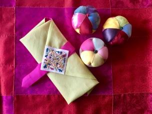 Korean wrapping cloth & pin cushions