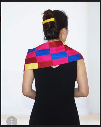 Silk scarf (photo: Tilmann Krieg)