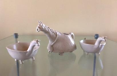 Llama jug and bowls (small)