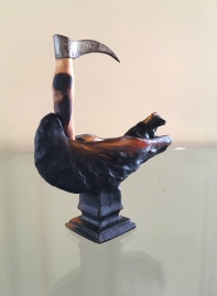 Megan Bottari, Live export; not a cruise (On the Good Ship Bismillah), lost wax cast Australian lead crystal, found object