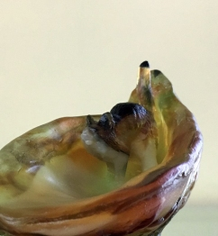 Megan Bottari, Lost at Sea (from the Owl and the Pussycat series), lost wax cast Australian lead crystal