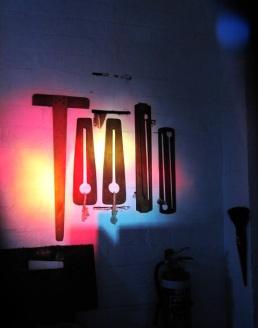lights in the workshop